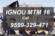 iignou mtm project synopsis