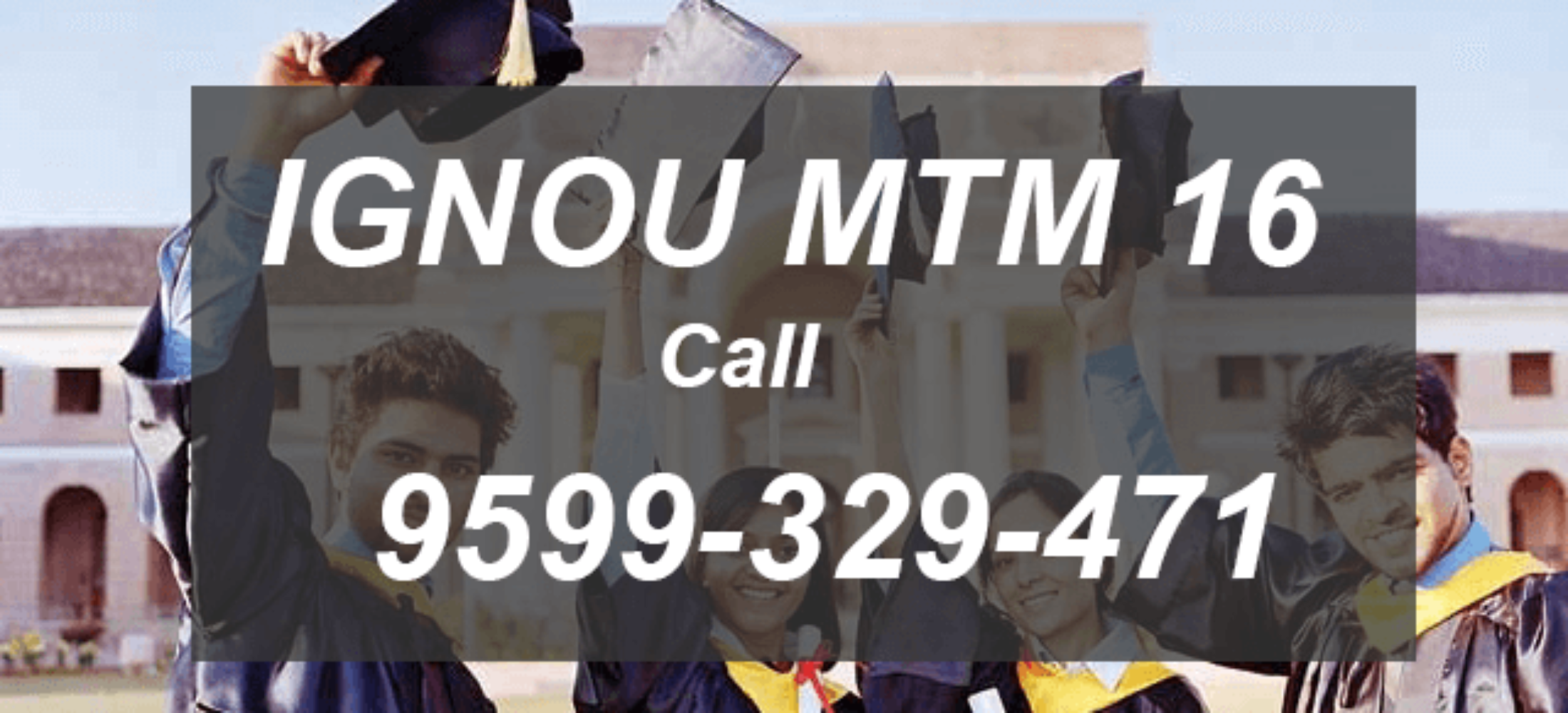 IGNOU MTM Project Synopsis (MA TOURISM MANAGEMENT) MTM 16