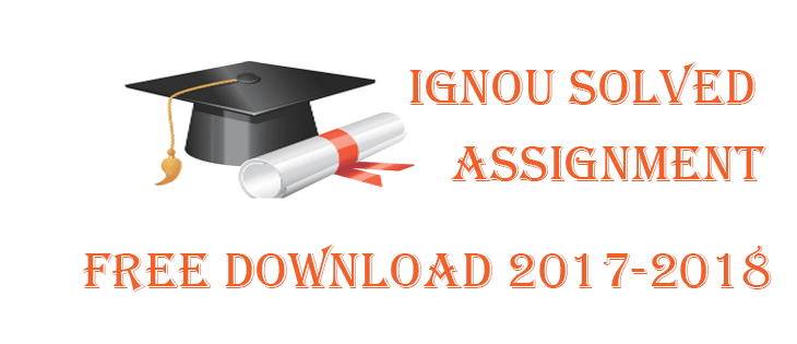 Ignou mard solved assignment