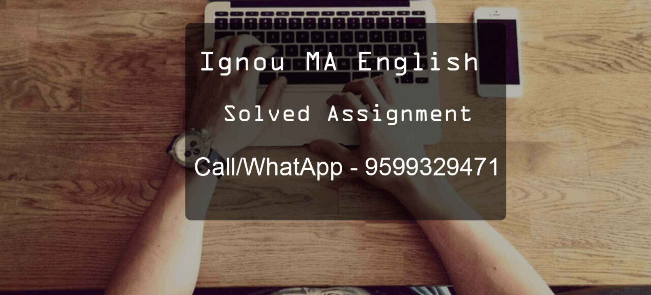 IGNOU MA English Solved Assignments Free Download - MEG 2017/18-19