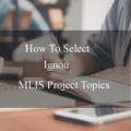 Mlis Project Topics